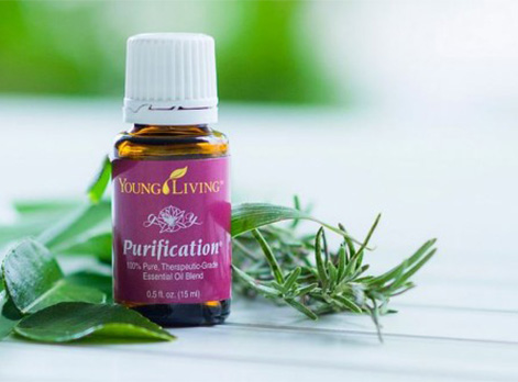 Young Living Aromatherapy Essential Oil Purification bottle