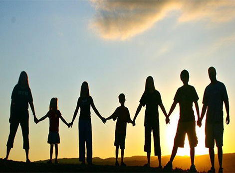 Family Constellations and Ancestral Healing showing seven generations of family members